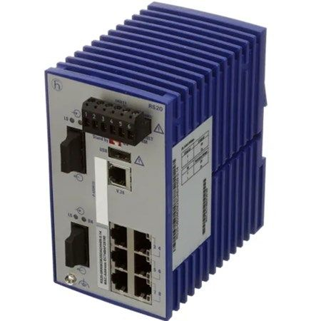 Hirschmann RS20-0800T1T1SDAE Rail Switches RS20 RS30 RS40 Ethernet Switches